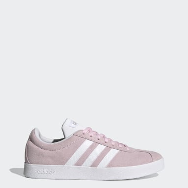 Women Walking Pink VL Court Shoes