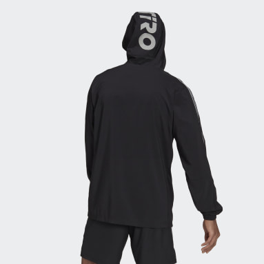 Men Football Black Tiro Reflective Windbreaker