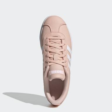 Children Essentials Pink VL Court 2.0 Shoes