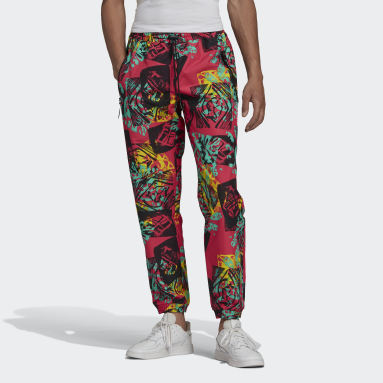 Pantaloni adidas Adventure Archive Printed Multicolor Uomo Originals