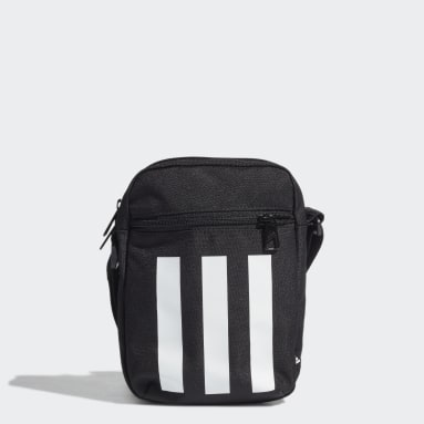 Lifestyle Black Essentials 3-Stripes Shoulder Bag