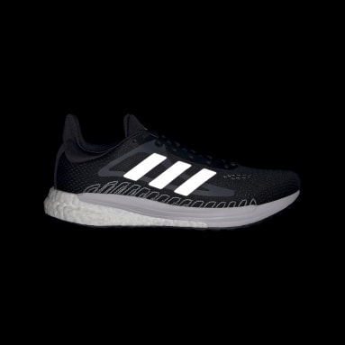 Women Running Black SolarGlide Shoes