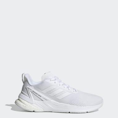 Men's Running White Response Super Shoes