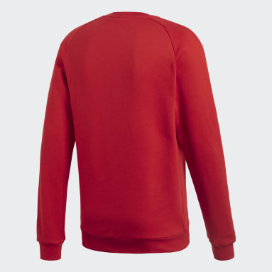 Sweat-shirt Core 18 Rouge Hommes Fitness Et Training