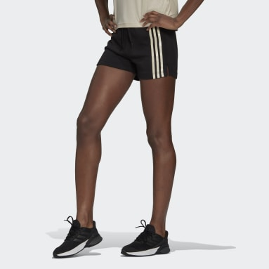 Women's Essentials Black adidas x Zoe Saldana AEROREADY Shorts