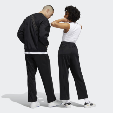 Originals Black Pintuck Pants (Gender Neutral)