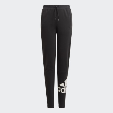 Youth Training Black adidas Essentials French Terry Pants