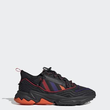Erkek Originals Siyah OZWEEGO Zip Ayakkabı