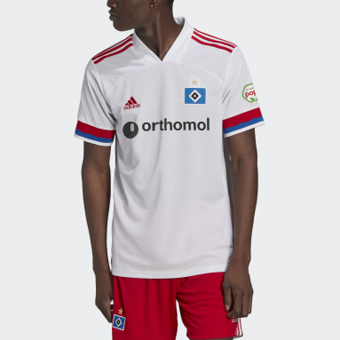 Voetbal Wit HSV 20/21 Thuisshirt