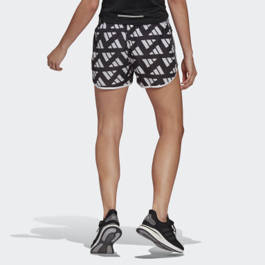 Women Running White Marathon 20 Celebration Shorts