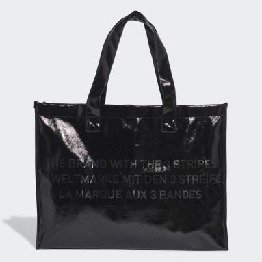 Bolso Shopper Negro Mujer Originals