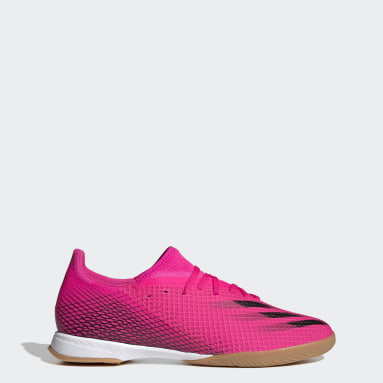 Men's Soccer Pink X Ghosted.3 Indoor Shoes