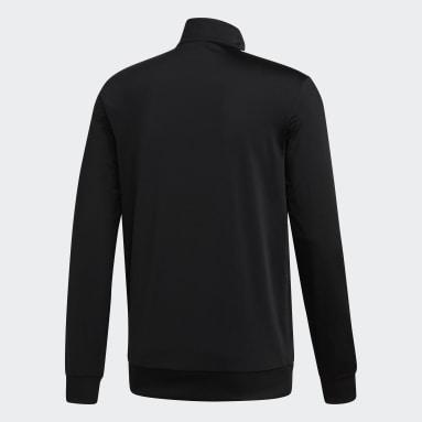 Veste de survêtement Essentials 3-Stripes Tricot noir Hommes Essentials