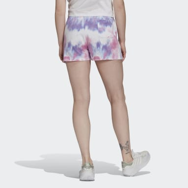 Women Originals Multicolor Tie Dye Shorts