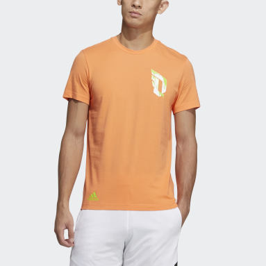Men Basketball Orange Dame Sauce Tee