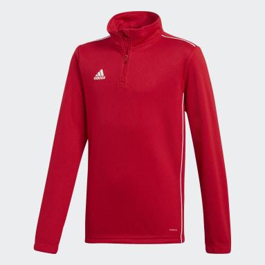 Camiseta entrenamiento Core 18 Rojo Niño Gimnasio Y Entrenamiento