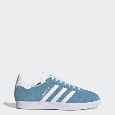 Women Originals Blue Gazelle Shoes