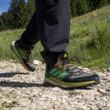 Men TERREX Green Terrex Trailmaker Blue Hiking Shoes