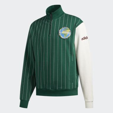 Sweat-shirt FA Blocked Vert Hommes Originals