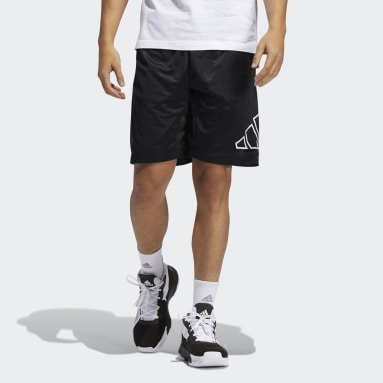 Men's Basketball Black Big Logo Shorts