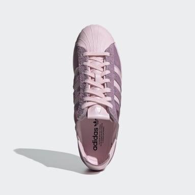 Sapatos Minimalistic Icons Superstar Rosa Originals