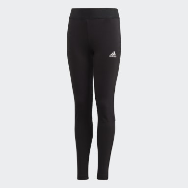 Girls Yoga Sort Must Haves 3-Stripes tights