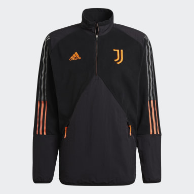 Maglia Travel Fleece Juventus Nero Uomo Calcio