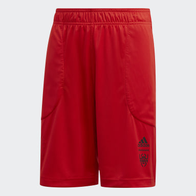 Kids Basketball Red Donovan Mitchell D.O.N. Issue #2 Shorts