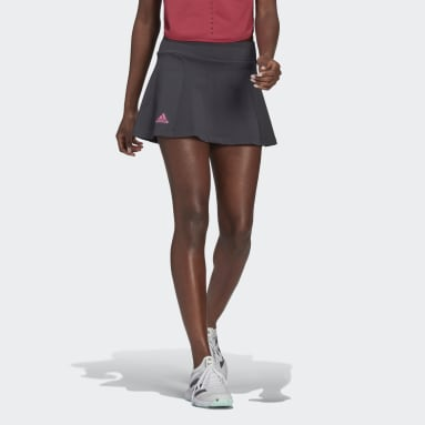 Women Tennis Grey Primeblue Tennis Knit Skirt