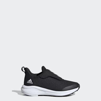 Çocuklar Koşu Siyah FortaRun AC Ayakkabı