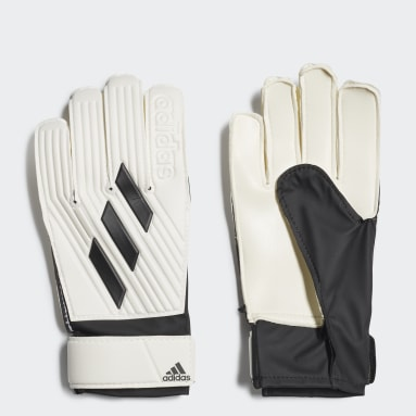 Youth 8-16 Years Football White Tiro Club Goalkeeper Gloves
