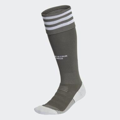 Fotboll Grön Manchester United Away Socks