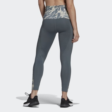 Women's Essentials Blue adidas x Zoe Saldana AEROREADY 7/8 Tights