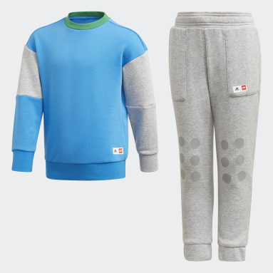 Kids 4-8 Years Gym & Training Blue adidas x Classic LEGO® Set