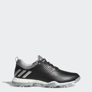 Women's Golf Black Adipower 4orged Shoes