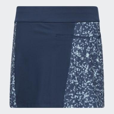 Gonnellino Girls' Print Blu Ragazza Golf