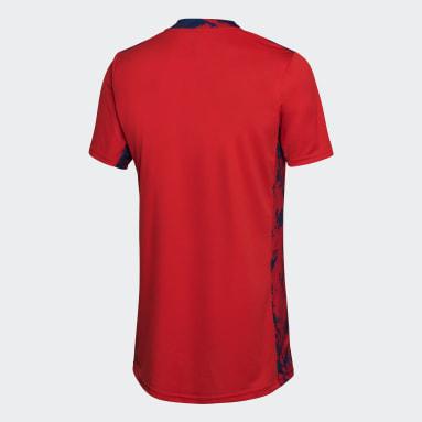 Camiseta de Arquero Titular Selección Argentina Rojo Hombre Fútbol