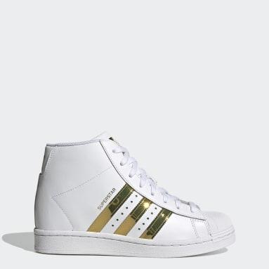 Women Originals White Superstar Up Shoes