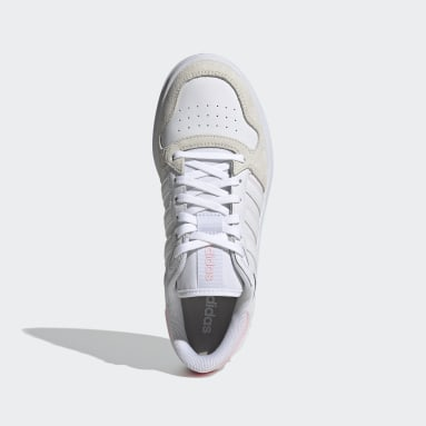 Women Sport Inspired White Breaknet Plus Shoes