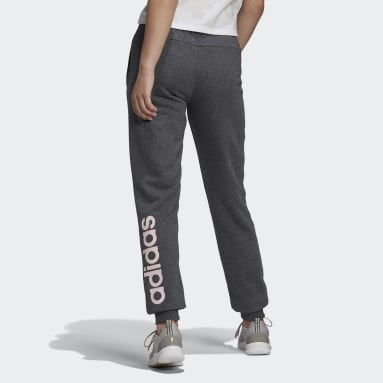 Pantalon Essentials French Terry Logo Gris Femmes Sportswear