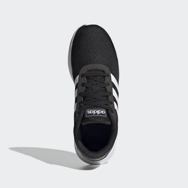 Kids Sport Inspired Black Lite Racer 2.0 Shoes