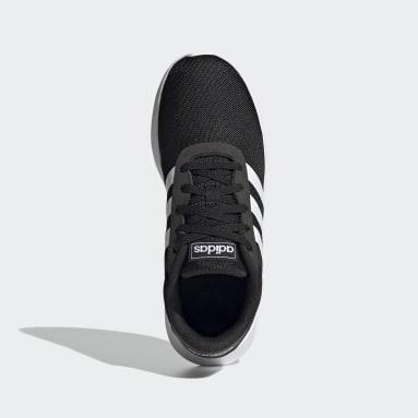Tenis Lite Racer (UNISEX) Negro Niño Diseño Deportivo