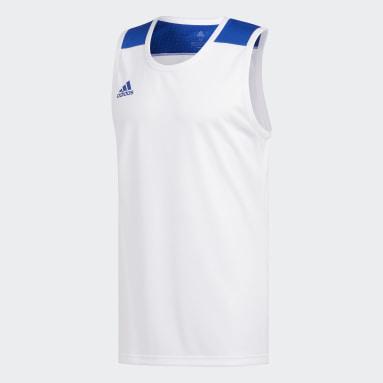 Heren Basketbal Wit Creator 365 Shirt