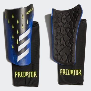 Voetbal zwart Predator League Scheenbeschermers