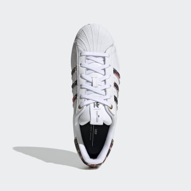 Women's Originals White HER Studio London Superstar Shoes