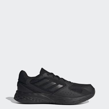 Men Running Black Response Run Shoes