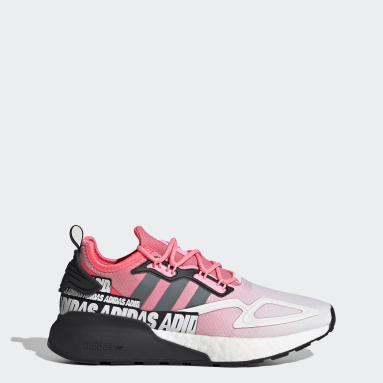 Women Originals Red ZX 2K Boost Shoes