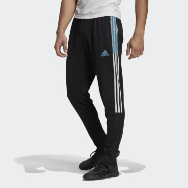 Men's Soccer Black Tiro Track Pants