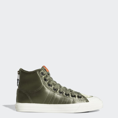 Originals Green Nizza Hi RF Shoes
