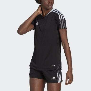 Women Football Black Tiro 21 Training Jersey